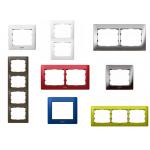 Рамки розетки и выключатели