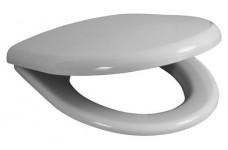 """Крышка-сиденье Jika """"OLYMP/BALTIC"""", микролифт,белое,дюропласт,стальные петли 9328.1"""