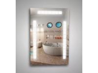 Зеркало с внутренней подсветкой 12 W + 20W + 20W 55х80 см КЗСК 45505