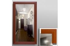 Зеркало  в рамке МДФ 90 х 50 вишня КЗСК 45302