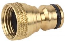Адаптер внешний (соединитель-резьба внешняя) латунный, 1/2″ 55010 B RACO «Profi»