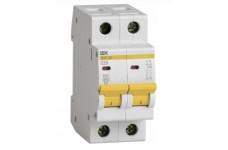 Автоматический выключатель 2П 25А С ВА47-29 4,5кА ИЭК MVA20-2-025-C