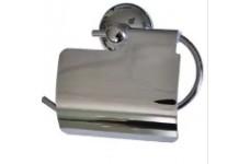 Держатель для туалетной бумаги со скошенным экраном /нерж. хром./ 75102