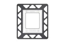 Монтажная рамка для установки стеклянных панелей TECEloop Urinal на уровне стены 9242647