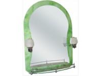 Зеркало 70*50 FRAP 652-46 + светильники FF5