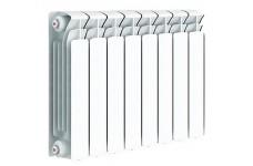 Радиатор RIFAR BASE VENTIL 500 8 секции BVR радиатор биметалл. нижнее правое подкл. белый