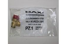 Клапан предохранительный 3 бар BAXI JJJ 9951170
