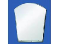Зеркало 60*45 с фацетом полка внутри коробки крепеж отдельно САНАКС  46129