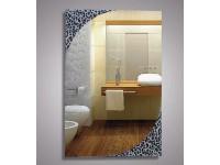 Зеркало 80х55 см. декоратмвные леопард КЗСК 45625