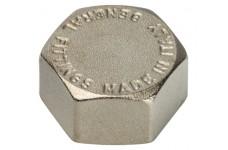 Заглушка ВР никелированная 1/2 STOUT (SFT-0027-000012)