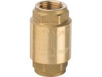 """Клапан обратный пружинный муфтовый с металлическим седлом 1/2"""" STOUT (SVC-0001-000015)"""