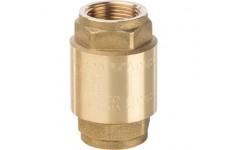 Клапан обратный пружинный муфтовый с металлическим седлом 3/4 STOUT (SVC-0001-000020)