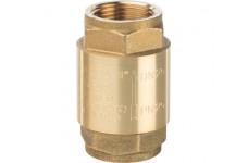"""Клапан обратный пружинный муфтовый с металлическим седлом  1"""" STOUT (SVC-0001-000025)"""