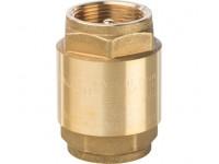 """Клапан обратный пружинный муфтовый с металлическим седлом 1 1/4""""  STOUT (SVC-0001-000032)"""