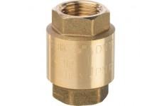 """Клапан обратный пружинный муфтовый с пластиковым седлом 1/2"""" STOUT (SVC-0002-000015)"""