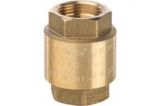 Клапан обратный пружинный муфтовый с пластиковым седлом 3/4 STOUT (SVC-0002-000020)