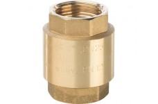 """Клапан обратный пружинный муфтовый с пластиковым седлом 1"""" STOUT (SVC-0002-000025)"""