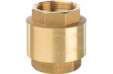 """Клапан обратный пружинный муфтовый с пластиковым седлом 1 1/2"""" STOUT (SVC-0002-000040)"""