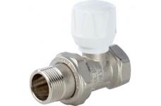 Клапан ручной терморегулирующий, прямой 3/4 STOUT (SVR 0003 000020)