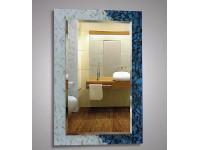 Зеркало 80х55 см. декорированное камни КЗСК 45617