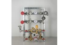 Кв. станц. для систем отопл. и водосн. б/сч. б/рец. С переп.кл (отопл)   (VT.NM.P.00.0.0)