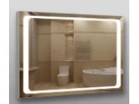 Зеркало 384 с LED подсветкой 9,6 Вт/м. 70*100 см. с кнопочным включ.КЗСК 3840710