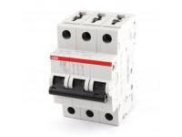 Автоматический выключатель ABB S203 3P 16A 6kA AC 2CDS253001R0164