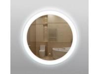 Зеркало 337ск с LED подсветкой 9,6Вт/м  круглое 60см с сенсор.выкл КЗСК  3370606ск