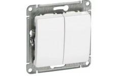 Выключатель 2кл. 10А белый  SCHNEIDER Glossa GSL000151