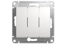 Выключатель 3кл. 10А белый  SCHNEIDER Glossa GSL000131