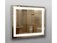 Зеркало 384 с LED подсветкой 9,6 Вт/м. 70*60 см. с кнопочным включ. КЗСК 3840706