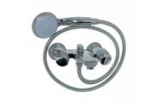 Смеситель в ванную кор нос  MAGNUS металлокерамика ручка круглая  ( латунный корпус )