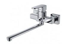 Смеситель в ванную   MAGNUS шаровый 40мм  с дивектором на корпусе ( латунный корпус )