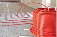 Труба сшитый полиэтилен TAEN 16*2.0 PE-RT красный (200 м)